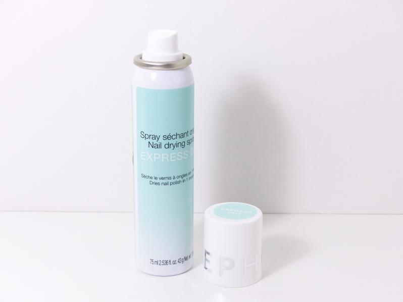 Sephora - Spray séchant ongles 2