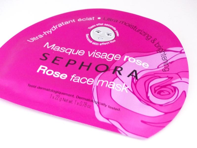 Sephora masque visage rose